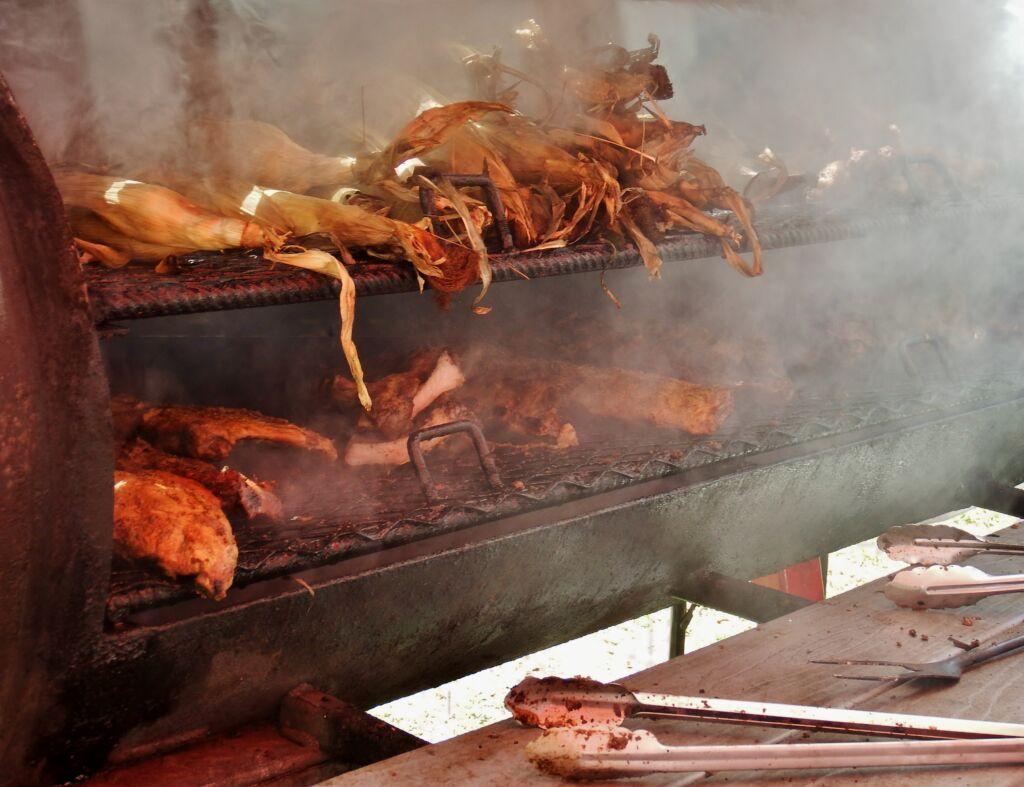 Smoking food at florida sustains event