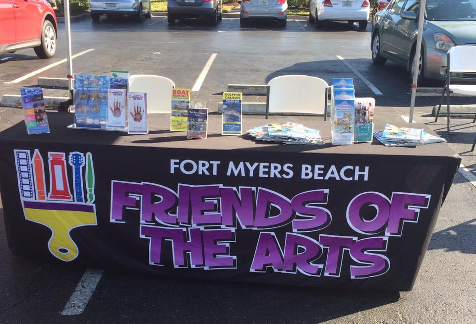 Friends of the arts table